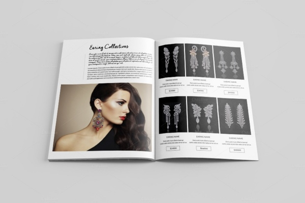 Photorealistic Jewelry Brochure