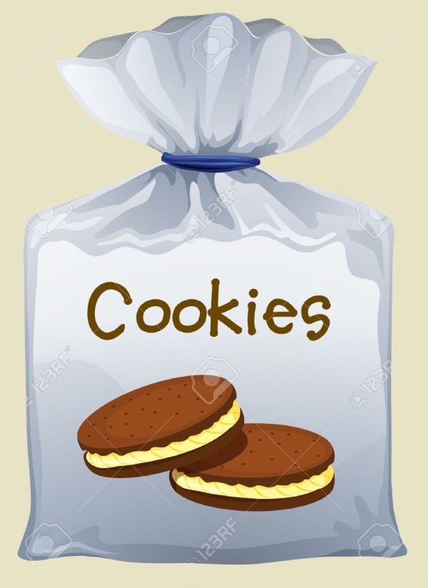 Plastic Cookie Packaging Design