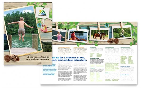 Playful Kids Summer Camp Brochure