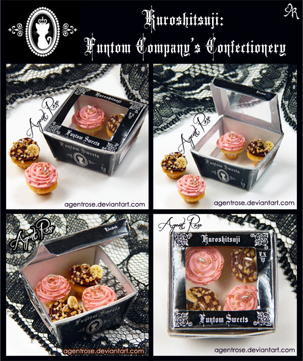 Polymer Clay Cupcakes Packaging Design
