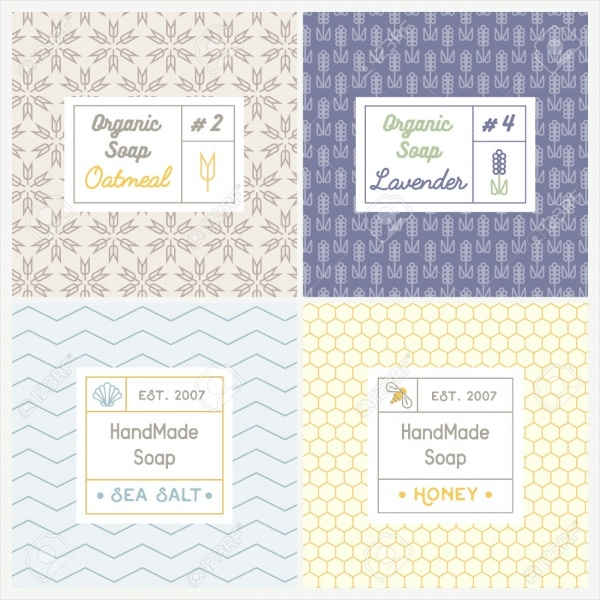 Popular Soap Recipes Label Template