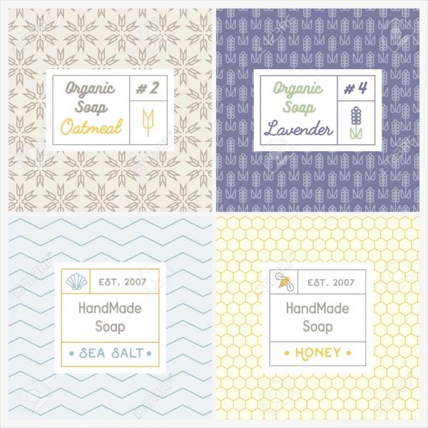 Popular Soap Recipes Label Template