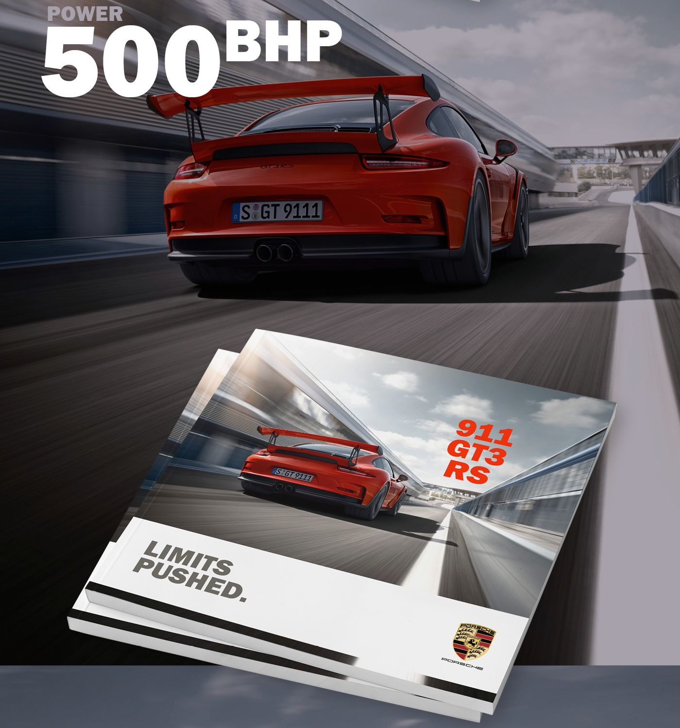 Porsche 911 Automotive Brochure Design