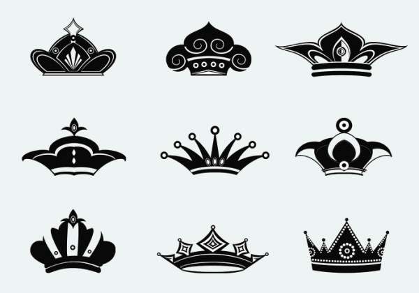 Princess Crowns Brushes Pack