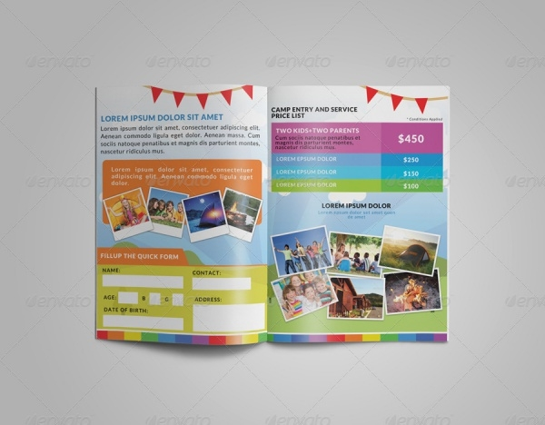 Printable Child Care Brochure