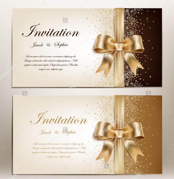 Printable Invitation for Anniversary