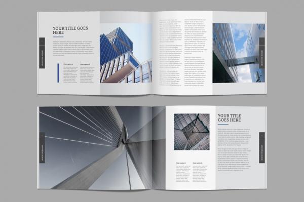 Professional Architecture Brochure Design