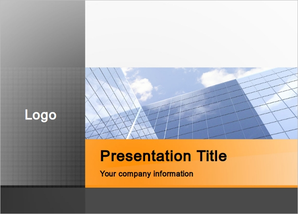 professional business office presentation