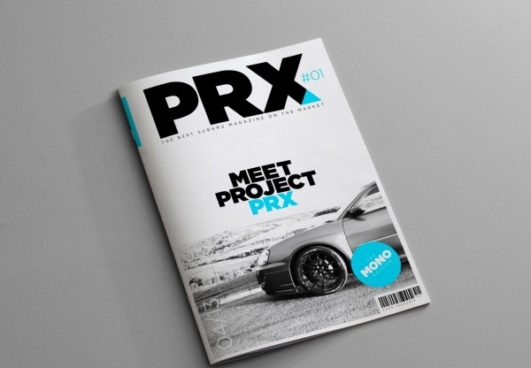 Project PRX Automotive Brochure Design