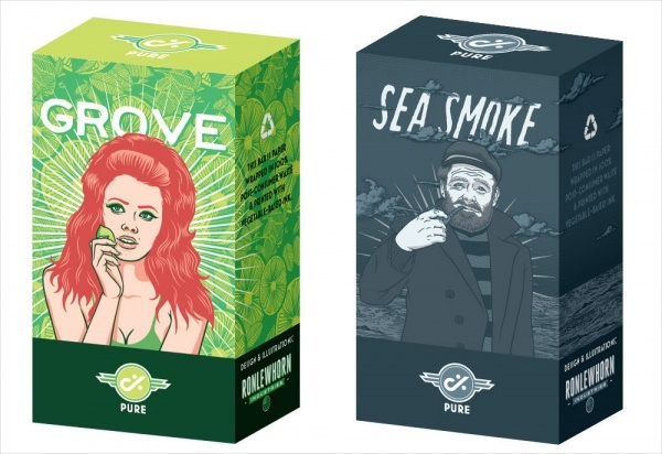 Pure Soap Boxes Packaging Design