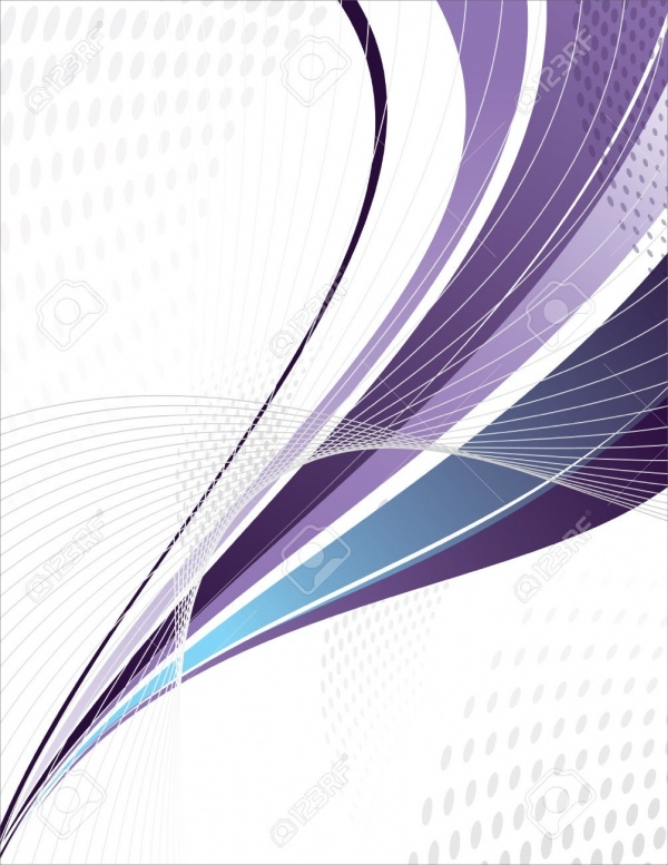 Purple Swoosh Lines Vector