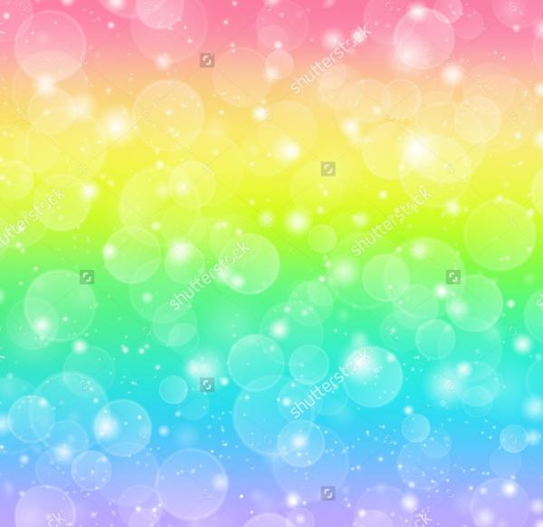 Rainbow Bokeh Texture