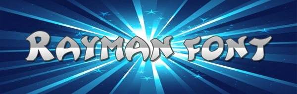 Rayman Adventures Font Style