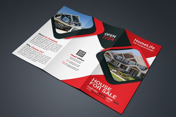 Real Estate Advertisement Brochure Design