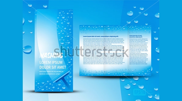 Realistic Cleaning Flyer Template