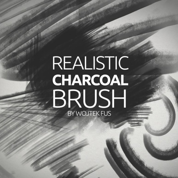 Realistic-charcoal-Photoshop-Brushes