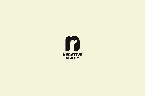 Reality Negative Space Logo Design
