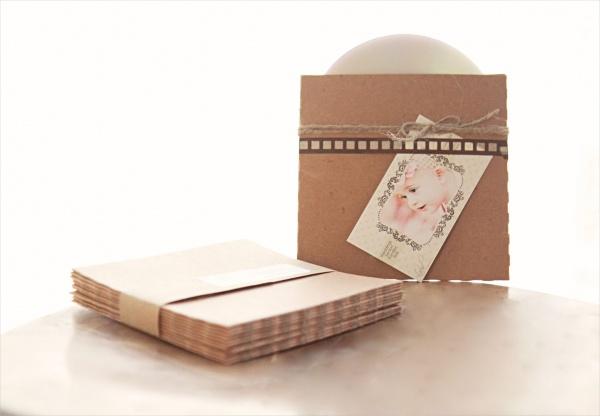 Recycled Kraft CD Sleeves Packaging