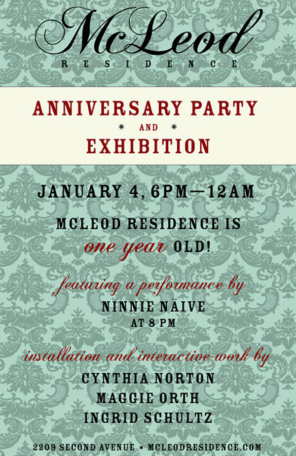 Residence Anniversary Party Invitation