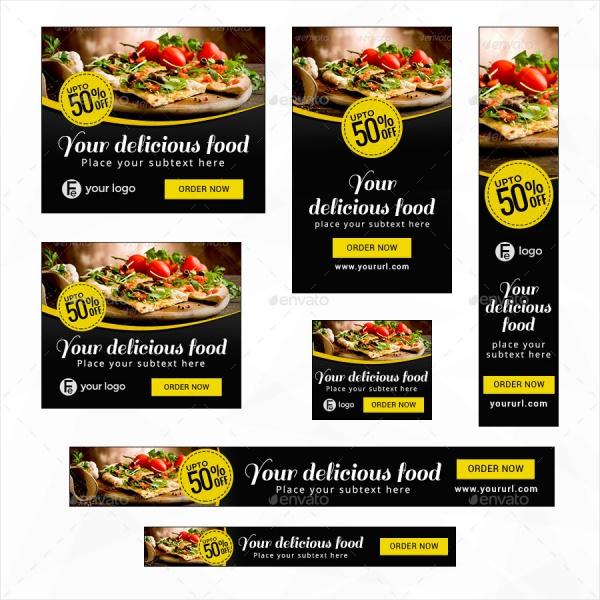 Restaurant banner designs psd vector eps jpg