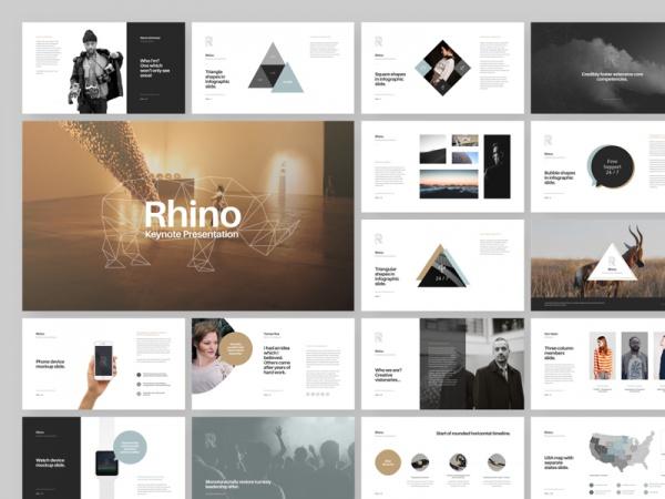Rhino Keynote Geometric Presentation