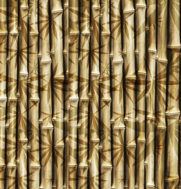 Rods Pattern Bamboo Design