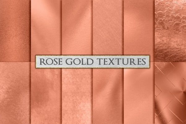 Rose Gold Foil Background Texture