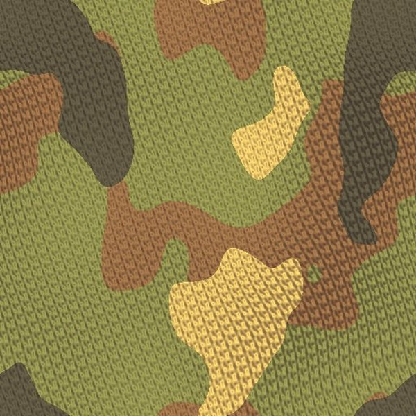 Rough Camouflage Texture