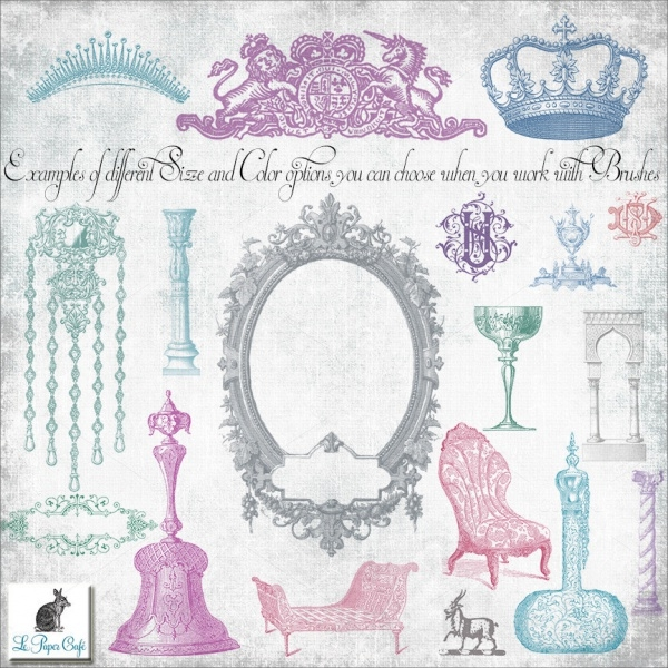 Royal Aristocracy Crown Brush Set