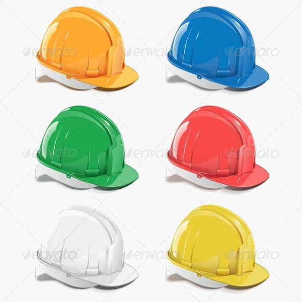 Safety Helmet Vector Icon