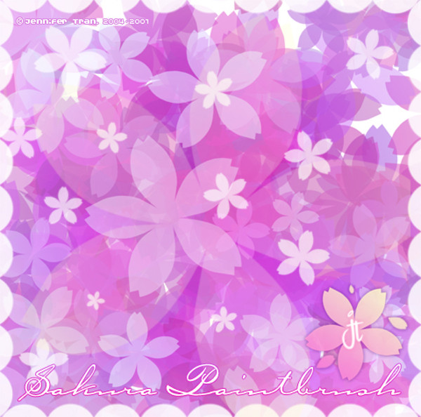 Sakura Petals PS Brushes