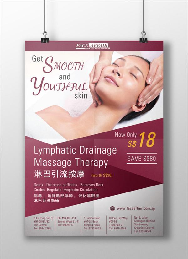 Salon Advertising Flyer Design