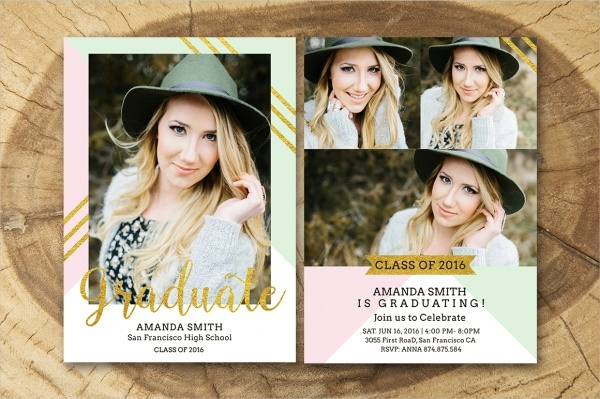 Salsal Designed Senior Graduation Announcement
