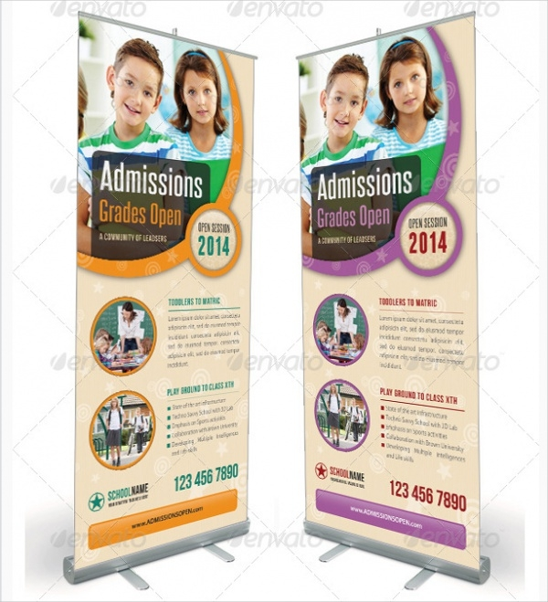 School Promotional Banner