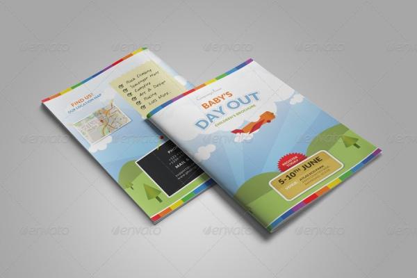 School Summer Camp Bifold Brochure