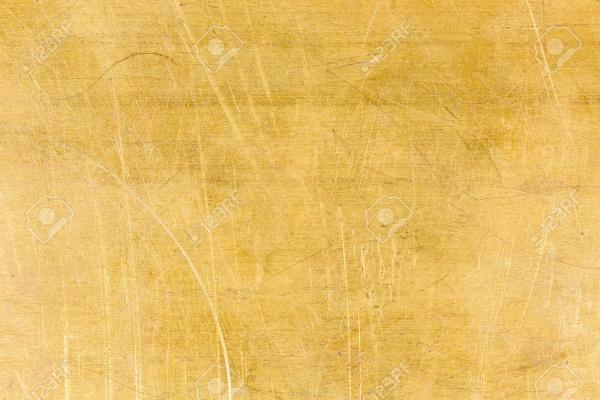 Scratched Brass Texture