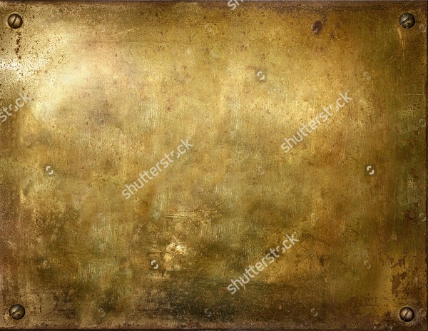 Seamless Brass Texture With Screws