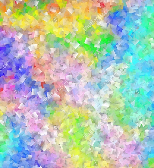 Seamless Rainbow Abstract Texture