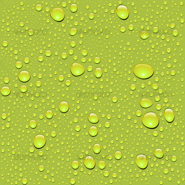 Seamless Water Drop Texture