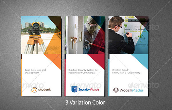 Security Camera Brochure Template