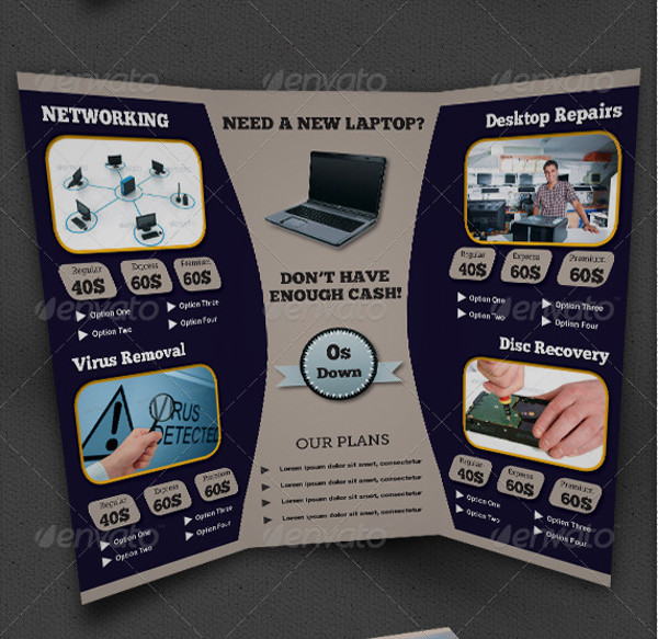 Security Services Brochure Designs