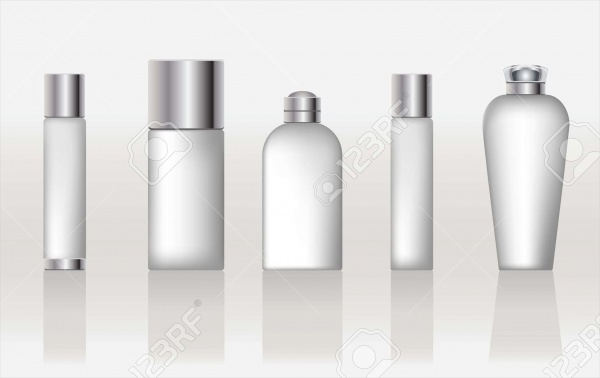 Set Of Cosmetic Packging
