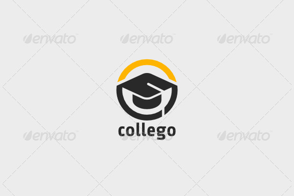 Simple College Education Logo