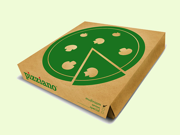 Simple & Fresh Pizziano Packaging