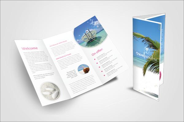 Simple Travel Agency Modern Brochure