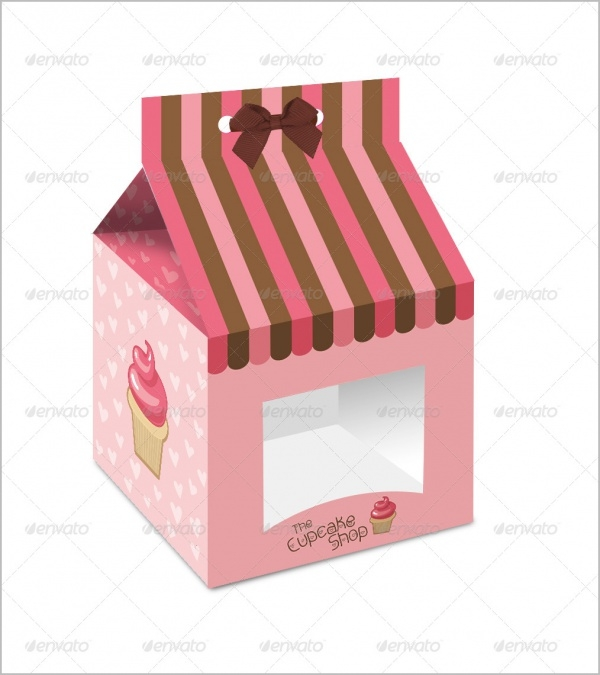 Single Cupcake Packaging