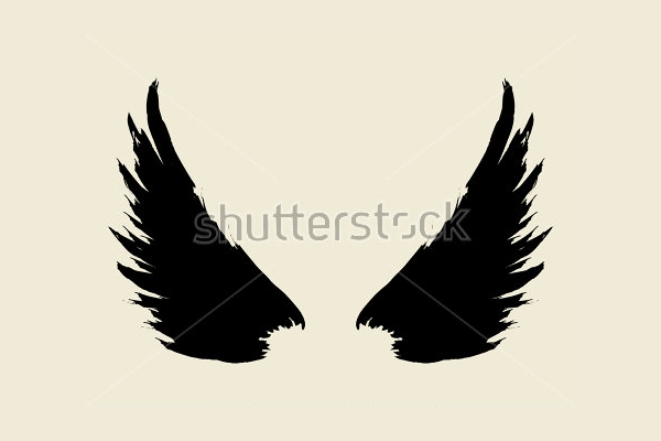 Sketchy Wings Brushes for GIMP