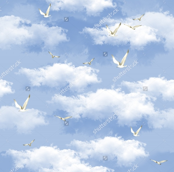 Sky Vector Illustration Pattern