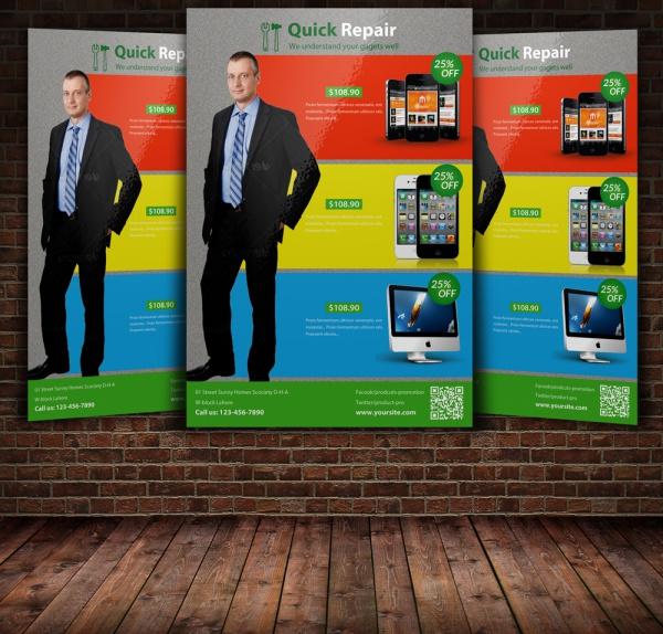 Smart Phone & Computer Flyer