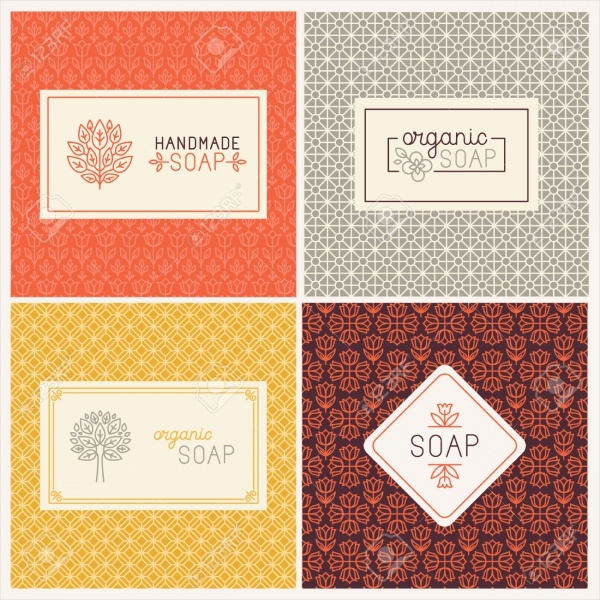 Soap Packaging Linear Labels